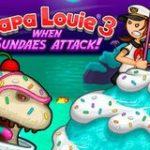 Игра Папа Луи 3 атака мороженого