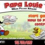 Игра Папа Луи атака пиццы