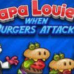 Игра Папа Луи 2 атака гамбургеров